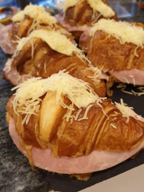 Croissant Jambon Béchamel