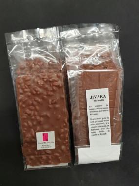 Tablette Jivara 40% + riz soufflé 100g