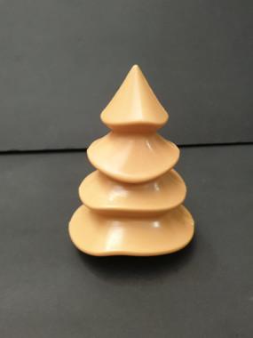 Sapin de Noël en chocolat dulcey