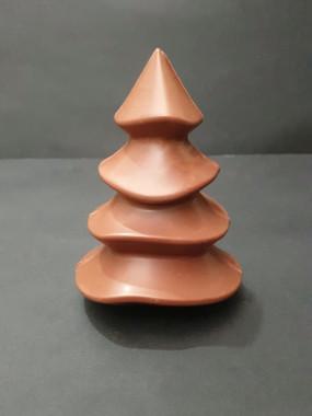 Sapin de Noël en chocolat au lait