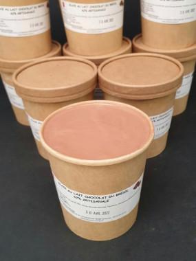 Pot de crème glacée Chocolat 450mL