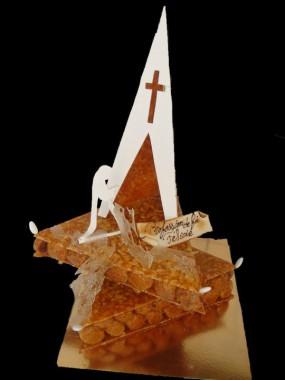 Pièce montée Église (Communions, Professions de foi...) 15 personnes
