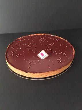 Tarte chocolat 8 pers