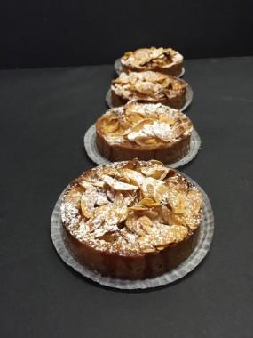 Tartelette alsacienne (aux pommes et amandes)