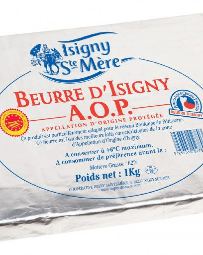Beurre de tourage Isigny 1kg